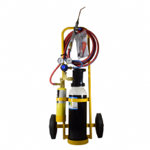 Flametech Brazing Kit With Trolley Stand